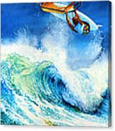 Getting Air Canvas Print