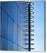 Getty Center Ladder Canvas Print