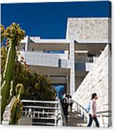 Getty Museum Canvas Print