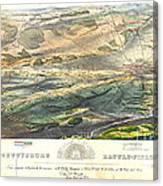 Gettysburg Battlefield 1863 Canvas Print