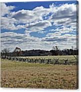 Gettysburg Battlefield - Pennsylvania Canvas Print