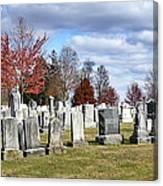 Gettysburg National Cemetery Canvas Print