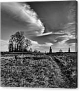 Gettysburg Sky Canvas Print