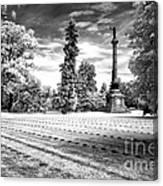 Gettysburg Soldier's Cemetery Canvas Print