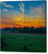 Gettysburg Sunrise Canvas Print