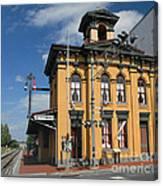 Gettysburg Train Station Canvas Print