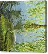 Gezaehmte Frisur Canvas Print