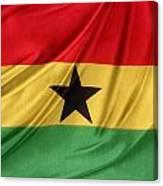 Ghana Flag Canvas Print