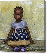 Ghanaian Child Canvas Print