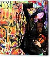 Ghetto Colours Canvas Print