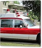 Ghost Buster Style Ambulance Canvas Print