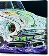 Ghost Car Canvas Print