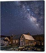 Ghost Dog At Bodie Canvas Print
