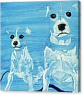 Ghost Dogs Canvas Print