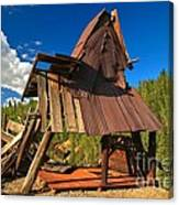 Ghost Of An A-frame Canvas Print