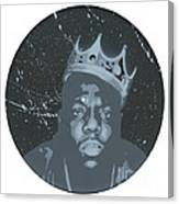 Ghost Of Biggie Canvas Print