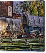 Ghost Of Old West No.1 Canvas Print