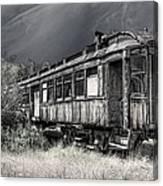 Ghost Passenger Train Coach Canvas Print