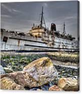 Ghost Ship Ll Canvas Print