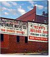 Ghost Sign. Clarksville Tennessee  Canvas Print