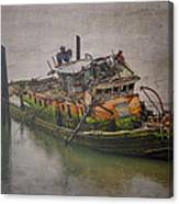 Ghost Steamer Canvas Print