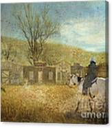 Ghost Town #1 Canvas Print
