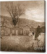 Ghost Town #2 Canvas Print