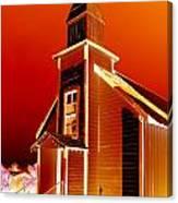 Ghost Town Church Canvas Print
