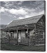 Ghost Town Homestead - Montana Canvas Print