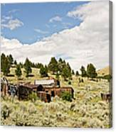 Ghost Town In Summer Canvas Print
