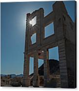 Ghost Town - Rhyolite Canvas Print