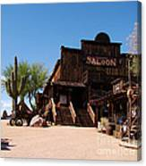 Ghost Town Saloon Canvas Print