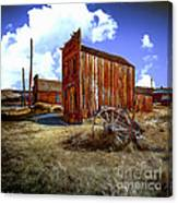 Ghost Towns In The Southwest Canvas Print