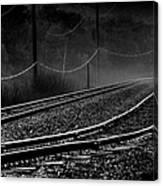 Ghost Tracks Canvas Print