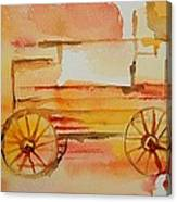 Ghost Wagon Canvas Print