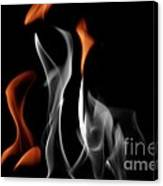 Ghostly Flames Canvas Print