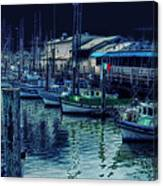 Ghostly Marina Canvas Print