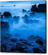 Ghostly Ocean 1 Canvas Print