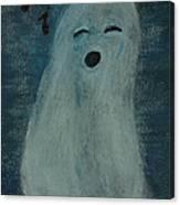 Ghostly Serenade Canvas Print