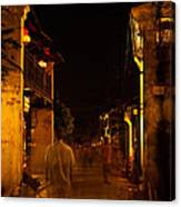 Ghostly Street Canvas Print
