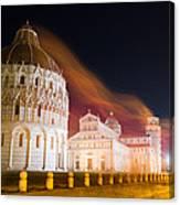 Ghosts Of Piazza Del Duomo Canvas Print