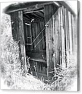 Ghosts Of The Outhouse Rocky Mountains Canvas Print