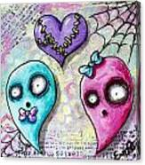 Ghoulfriends Canvas Print