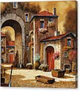 Giallo Canvas Print