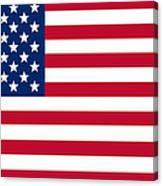Giant American Flag Canvas Print