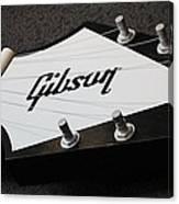 Giant Gibson Guitar Canvas Print