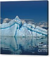 Giant Ice Floes Canvas Print