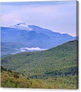 Giant Mountain From Owls Head Canvas Print