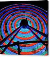 Giant Wheel Canvas Print