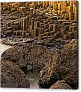 Giants Causeway, Antrim Coast, Northern Canvas Print